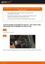 Come cambiare cuscinetto ruota della parte anteriore su Fiat Punto 188 diesel - Guida alla sostituzione