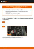Byta hjullager fram på Fiat Punto 188 diesel – utbytesguide