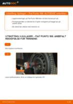 PDF med trinn for trinn-veiledning for bytte av Golf 5 Dynamo