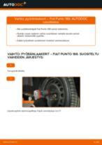 FIAT PUNTO Sumuvalot vaihto: ohjekirja