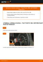 Montáž Lozisko kolesa FIAT PUNTO (188) - krok za krokom príručky
