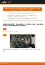 Comment changer : roulement de roue arrière sur Fiat Punto 188 diesel - Guide de remplacement
