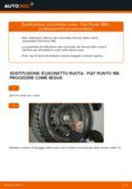 Come cambiare cuscinetto ruota della parte posteriore su Fiat Punto 188 diesel - Guida alla sostituzione