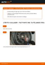 Byta hjullager bak på Fiat Punto 188 diesel – utbytesguide