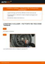 Skifte Skiltlys FIAT PUNTO: gratis pdf