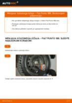 Kako zamenjati avtodel kolesni ležaji zadaj na avtu Fiat Punto 188 diesel – vodnik menjave