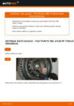 Pakeisti Šarnyras FIAT PUNTO: instrukcija