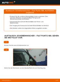Wie der Ersatz vollführt wird: Scheibenwischer am FIAT PUNTO