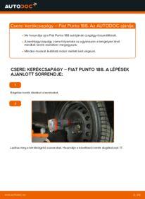 Hogyan végezze a cserét: FIAT PUNTO Kerékcsapágy