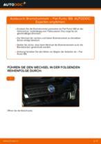 Brauchbare Handbuch zum Austausch von Bremssattel beim BMW Z1 1990