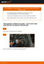 Montage Ruitenwisserstangen FIAT PUNTO (188) - stap-voor-stap handleidingen