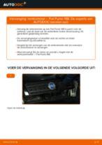 Wanneer Remtrommel FIAT PUNTO (188) veranderen: pdf tutorial