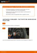 Stoßdämpferlager vorderachse und hinterachse tauschen: Online-Tutorial für FIAT PUNTO