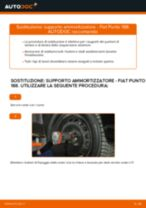 Come cambiare supporto ammortizzatore della parte anteriore su Fiat Punto 188 diesel - Guida alla sostituzione