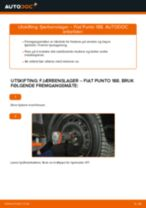Hvordan bytte Foring stabilisatorstag Mitsubishi Colt 4 - guide online