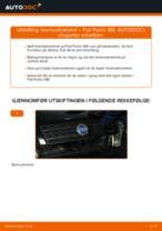 Bytte Bremsetrommel bak og foran FIAT PUNTO: guide på nett