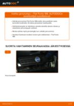 MITSUBISHI GTO Jarrupalat vaihto : opas pdf