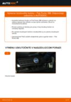 Ako vymeniť brzdový bubon na Fiat Punto 188 diesel – návod na výmenu