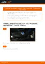 autodiely FIAT PUNTO (188) | PDF Manuál pre opravu
