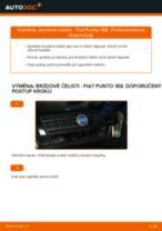 Online průvodce zdarma jak obnovit Brzdové obloženie FIAT PUNTO (188)