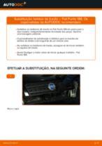 Como mudar tambores de travão em Fiat Punto 188 diesel - guia de substituição