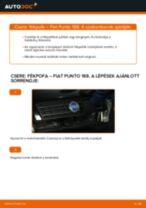 FIAT PUNTO (188) Hosszbordás szíj cseréje: kézikönyv pdf