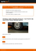 FIAT Skersinės vairo trauklės galas keitimas pasidaryk pats - internetinės instrukcijos pdf