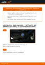 Fernscheinwerfer Glühlampe wechseln FIAT PUNTO: Werkstatthandbuch