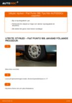 Byta styrled på Fiat Punto 188 diesel – utbytesguide