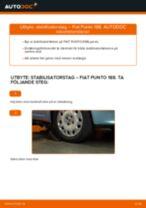 Byta stabilisatorstag fram på Fiat Punto 188 diesel – utbytesguide