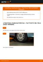 Hvordan bytte og justere Tennplugger FIAT PUNTO: pdf håndbøker