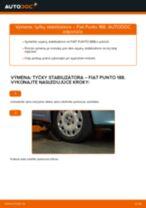 Krok za krokom příručka na opravu Fiat Punto 188AX