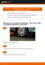 Kako zamenjati avtodel volanski končnik na avtu Fiat Punto 188 diesel – vodnik menjave