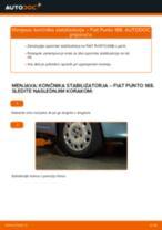 Kako zamenjati avtodel končnik stabilizatorja spredaj na avtu Fiat Punto 188 diesel – vodnik menjave
