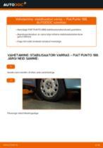 FIAT PUNTO tagumine ja eesmine Stabilisaatori otsavarras vahetamine: juhend online