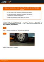 Online kézikönyv – saját kezű Alfa Romeo 159 939 Fékcsövek csere