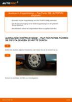 Wie Pendelstütze FIAT PUNTO tauschen und einstellen: PDF-Tutorial