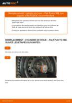 Remplacement Cylindre De Roue FIAT PUNTO : instructions pdf