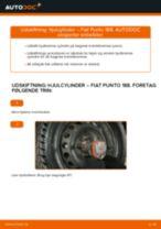 Udskiftning af Hjulbremsecylinder: pdf vejledning til FIAT PUNTO