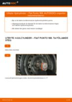 Byta hjulcylinder på Fiat Punto 188 diesel – utbytesguide