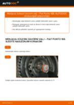 Kako zamenjati avtodel kolesni zavorni valj na avtu Fiat Punto 188 diesel – vodnik menjave