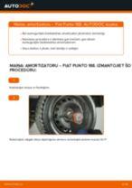Kā nomainīt un noregulēt Amortizators FIAT PUNTO: pdf ceļvedis