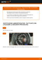 Come cambiare ammortizzatori della parte posteriore su Fiat Punto 188 diesel - Guida alla sostituzione