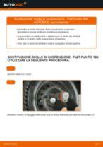 Come cambiare molle di sospensione della parte posteriore su Fiat Punto 188 diesel - Guida alla sostituzione