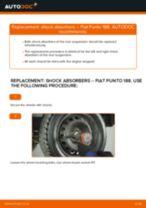 DIY manual on replacing FIAT GRANDE PUNTO 2020 Brake Drum