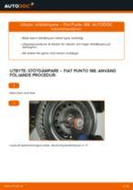 Byta stötdämpare bak på Fiat Punto 188 diesel – utbytesguide