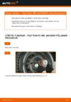 Byta fjädrar bak på Fiat Punto 188 diesel – utbytesguide