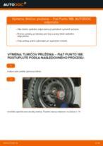 Výmena Tlmič pruzenia FIAT PUNTO: dielenská príručka