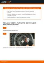 Kako zamenjati avtodel vzmeti zadaj na avtu Fiat Punto 188 diesel – vodnik menjave