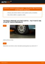FIAT gale ir priekyje Vikšro Valdymo Svirtis keitimas pasidaryk pats - internetinės instrukcijos pdf